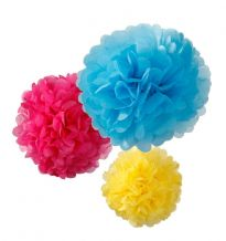 Decadent Dec PomPom Bright Mix Size